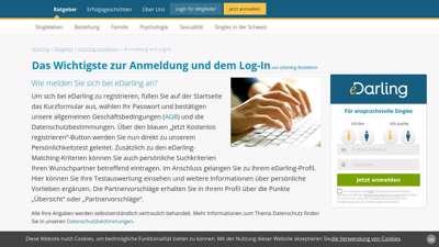 Login edarling Edarling Review